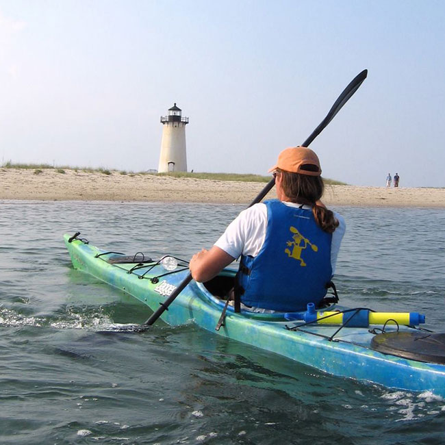 Kayak Tour of Martha's Vineyard in Cape Cod