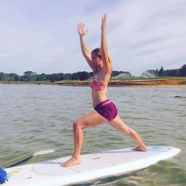 Stand Up Paddle Board Yoga in Cape Cod