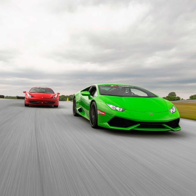 Italian Supercar Experience near Seattle