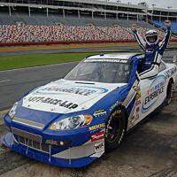 NASCAR experience driver