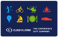 Cloud 9 Living Gift Certificate
