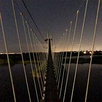 Suspension Bridge on Tour near Tampa