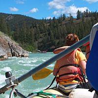 Whitewater Rafting near Lake Tahoe