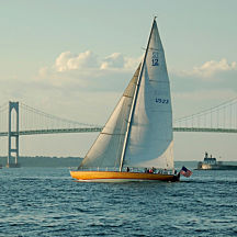 Sailing in Newport