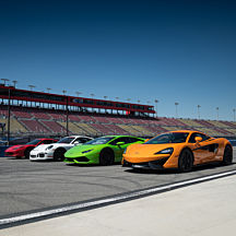 Race 5 Exotic Cars at Las Vegas Speedway