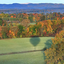 Fall Hot Air Balloon Ride in Hudson New York