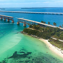 Fly Over Bahia Honda State Park