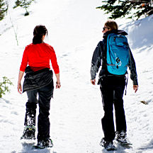 Snowshoeing Tour in Park City