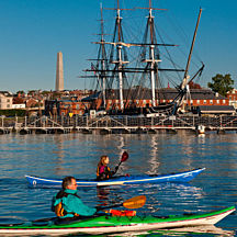 Boston Harbor Kayak Tour