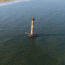 See the Morris Island Lighthouse