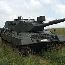 German Leopard Tank Ride Along near San Antonio