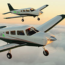 Learn to Fly a Piper Warrior near New York