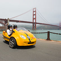 Golden Gate Bridge GoCar Tour