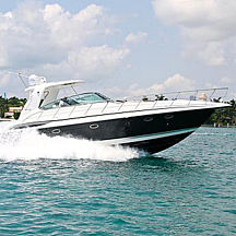 Private 43 Marquis Yacht near Fort Lauderdale