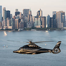 Helicopter Flight in Manhattan