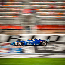 Indy Car Racing at Chicagoland Speedway
