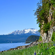 Douglas Island View of Juneau