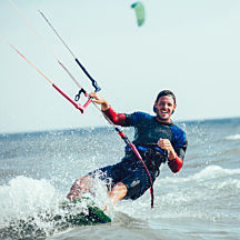 Learn to Kiteboard in the Outer Banks near Kitty Hawk