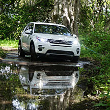 Drive a Land Rover at the Biltmore