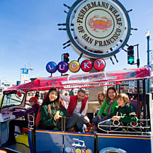 Fisherman's Wharf during San Francisco City Tour