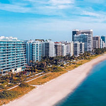 See Miami Beach From the Air