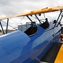 Biplane Ride Above Northfield