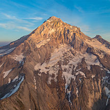 Mount Hood Scenic Aerial Tour