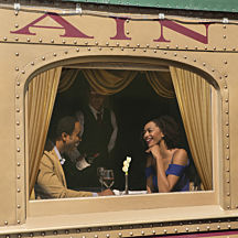 Romantic Dinner Train Napa Valley