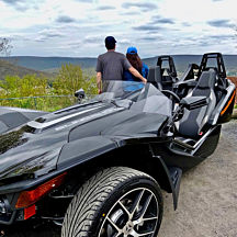 Polaris Slingshot Rental in Pennsylvania
