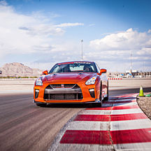 Race a Nissan GTR in Vegas