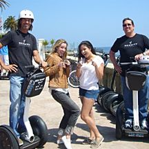 Historical Segway Tour in Santa Barbara