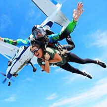 Tandem Skydive Jump in New Jersey