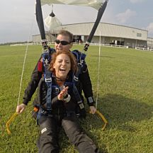 Tandem Skydiving in Rosharon, TX