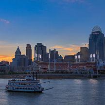 Sunset Ohio River Dinner Cruise