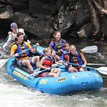 Nantahala Whitewater Rafting & Scenic Train Ride