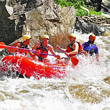 Whitewater Rafting Trip near Pittsburgh