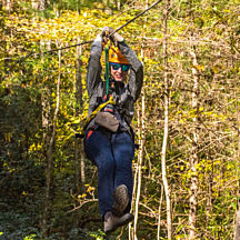 Ziplining Great Smokey Mountains