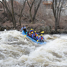 Whitewater Rafting near Boston