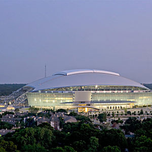 View of Cowboy Stadium during Tour