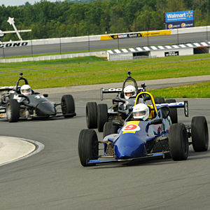 New Jersey Race a Formula 2000 Car