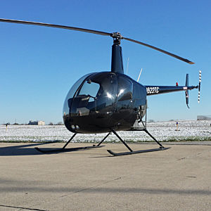 Learn to Fly in a R-22 Helicopter