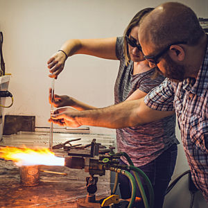 Private Glass Blowing Class in Philadelphia