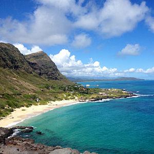 Makapuu Beach on Oahu