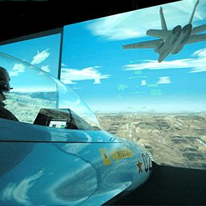 Military Flight Simulator in Los Angeles