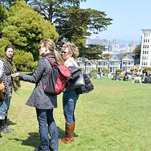 Painted Ladies on Food Tour in San Francisco