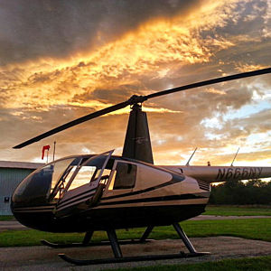 Sunset Helicopter Tour in New York