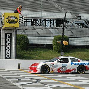 Stock Car Ride Along at Pocono Speedway