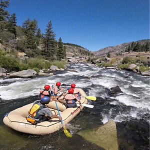 Whitewater Rafting near Lake Tahoe