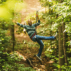 Ultimate Zip Line Adventure Course near Washington DC
