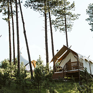 Deluxe Safari Tent in the Black Hills